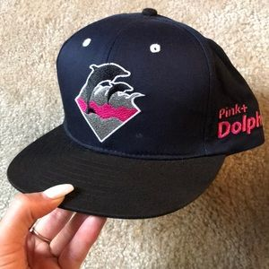 Pink Dolphin SnapBack hat